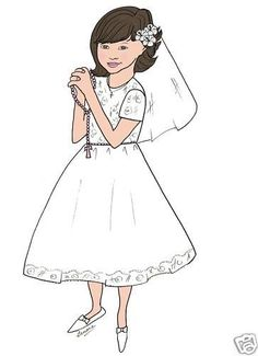 Personalized First Holy Communion girl  Thank you cards picclick.com