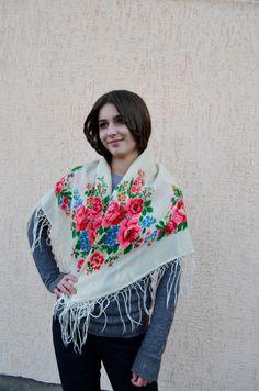 45a94eb63b 111 Best Vintage Ukrainian shawl images in 2019 | Paisley, Shawl ...