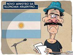 Charge do dia: Calote da Argentina