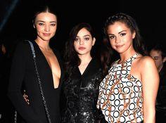 Miranda Kerr, Odeya Rush, and Selena Gomez