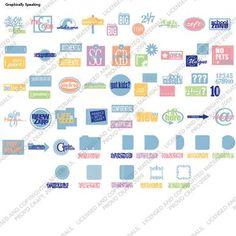 Cricut® Graphically Speaking Cartridge