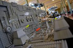 Death Star Trench Run /by Nathan Low #flickr #LEGO #StarWars #MOC