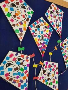 My butterflies üge; K Crafts, Crafts For Kids, Arts And Crafts, Paper Crafts, Spring Art, Summer Art, Kindergarten Art, Preschool Crafts, Kites Craft