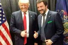 Matteo Salvini dopo il sostegno a Trump focus sulle vicende italiane Matteo Salvini ha sostenuto fino alla fine la candidatura di Donald Trump alle elezioni americane che si sono concluse proprio con la sua inaspettata quanto sperata vittoria. Archiviate le presidenzi #matteosalvini #referendum