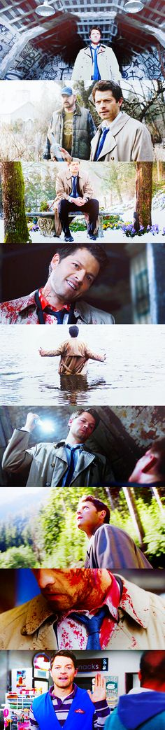 This is the story of an angel of the Lord named Castiel