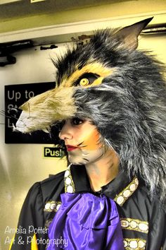 Back Stage Shoot for the Chelmsford Ballet Company. Wolf mask and make up was desing by me for production of Sleeping Beauty at the Civic Theatre. Civic Theatre, Wolf Mask, Ballet Companies, Amelia, Sleeping Beauty, Art Photography, Art Pieces, Stage, Artwork