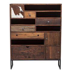 ACHICA | Texas 5 Drawer, 3 Door Cabinet