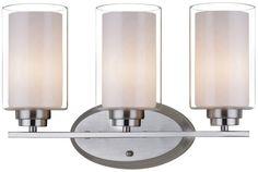 3 light glass satin nickel glass wall sconce wall lamp light