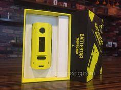 New 200W Box Mod from Smoant, the BATTLESTAR  #Vape #Vaping #Mod #BoxMod #Smoant #BattleStar #200WMod #BattleStar200W #Ecigarette #Ecigs #EcigWholesale