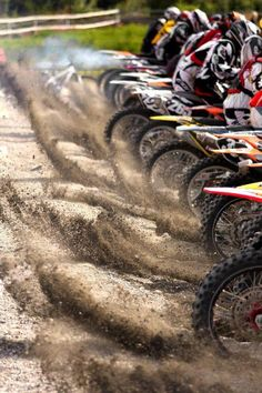Motorcrossss. My favorite place in the world to be.