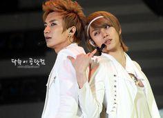 Heechul and Leeteuk