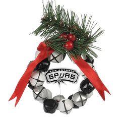 San Antonio Spurs Wreath Ornament $16.99