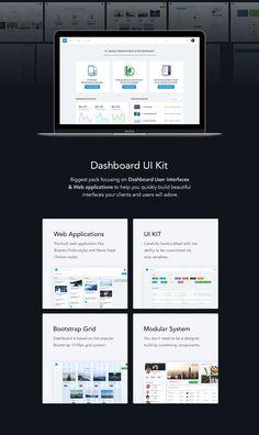 Dashboard UI Kit | Admin Dashboard Template & UI Framework by Zawia