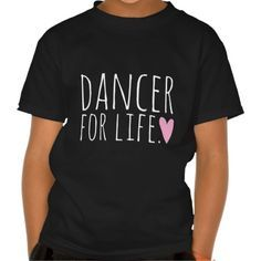 Dancer For Life Black with Heart I just bought one, really nice shirts https://funnyshirts.lol