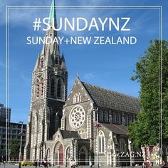 Sunday If you can relax rest take the day off Day Off, New Zealand, Cathedral, Rest, Sunday, Canning, Building, Travel, Instagram