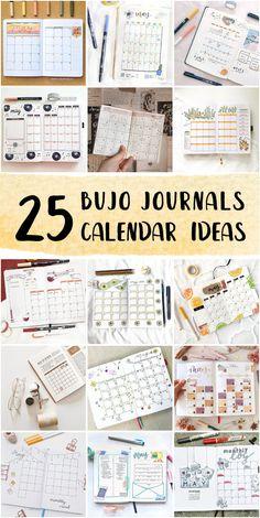 Cute Bullet Journal Monthly Calendar Set Up For High School Students - Bullet Journal Images #bulletjournallayout #bulletjournalforbeginners #thebulletjournalmethod