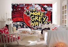 Carta Da Parati Pelosa Rosa : Immagini incredibili di adesivi murali e carte da parati wall
