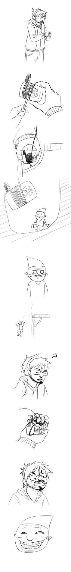 Scumbag pocket gnome!