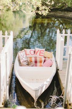 Garden Ranch Malibu Wedding - Style Me Pretty Canoe Wedding, Wedding Venues, Wedding Photos, Dream Wedding, Wedding Day, Nautical Wedding, Twilight Wedding Scene, Boho Chic, Shabby Chic