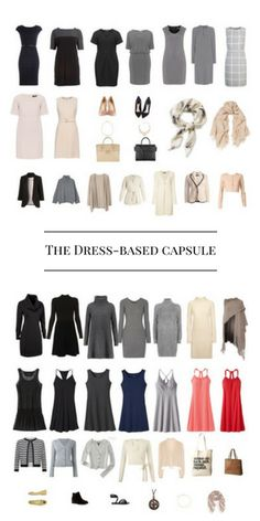 How to save time in the morning by building a dress-based capsule wardrobe