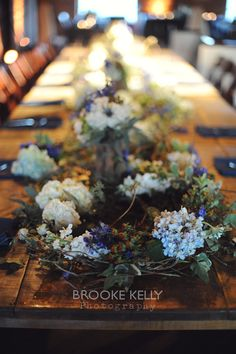 Rustic Elegance at Houston Station - Nashville Wedding Flowers.  Photo by Brooke Kelly Photography  | The Enchanted Florist