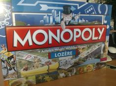 """Il est tout beau et il vient d'arriver ! Le Monopoly """"Lozère"""" !!!"""