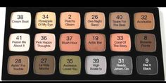 Neutral Palette. Pick and choose from 18 beautiful, highly pigmented shadows and make your own palette. www.daringbeauty.rocks