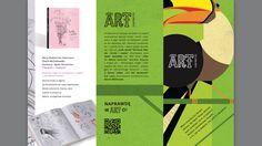 ArtEgmont leaflet, proj. Joanna Strękowska 1/2
