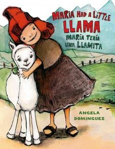 Maria had a little llama. Picture book.