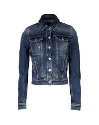 ae3a2e1d549 Armani Jeans Women Denim Jacket on YOOX. The best online selection of Denim  Jackets Armani Jeans. YOOX exclusive items of Italian and international ...