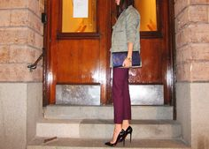 love the colors and the Louboutins, Columbine knows how to match an outfit