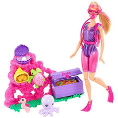 Barbie I Can Be Ocean Treasure Explorer Play Set