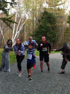 http://www.zombietrailrun.ca/  5km Zombie Trail Run Sept 28th, 2013 Waverley, Nova Scotia