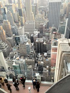 top of the rock, nyc - amazing view