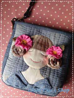 """Chuly""..on Bag...By Churi Chuly Shop"