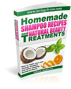 A book with great recipes for all types of body, hair, and skin treatments. All natural that end up giving great results!