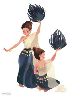 Thai Dance by hyamei.deviantart.com on @DeviantArt