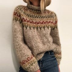 Ravelry 289497082299086332 - Ravelry: Skaanevik sweater pattern by Siv Kristin Olsen Source by gr_bye Sweater Knitting Patterns, Knitting Designs, Knitting Sweaters, Knitting Kits, Knitting Stitches, Pull Jacquard, Icelandic Sweaters, Fair Isle Knitting, Loose Sweater