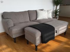 IKEA STOCKSUND 3-s. Fron a cl ad. Looks good considering used