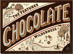 """The Features & Olive & Sinclair's Special """"Wilderness"""" Release Party Chocolate Bar"""