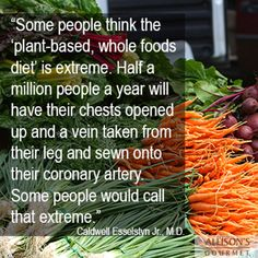 Plant based, whole food diet