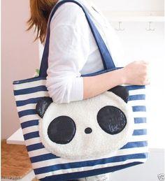 I love this panda bag