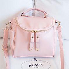 #womenfashion #popular #pink  #handbag #bag Prada Handbags, Handbags On Sale, Luxury Handbags, Fall Handbags, Prada Bag, Luxury Bags, Dolce & Gabbana, Cute Purses, Purses And Bags