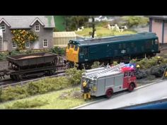 Model Railway videos from Model Rail Scotland 2020 Exhibition. Part 2 of Layouts on show: North of England Line 2 - Scarlington - N gauge, Kinlochewe - OO. Surf Line, California Surf, Model Trains, Scotland, Layout, Outdoor Decor, Youtube, Page Layout, Model Train