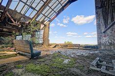 Abandoned Packard Plant, Detroit MI
