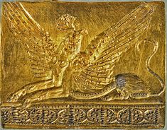 Minoan griffin - golden seal from Pylos BC] Minoan griffin - golden seal from Pylos BC] Athens National Archaeological Museum Ancient Greek Art, Ancient Aliens, Ancient Greece, Ancient Egypt, Egyptian Art, Greek History, Ancient History, Art History, European History