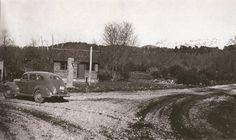 Indicador de Rutas y Caminos YPF-DPN, Villa La Angostura, Ca. 1937 (Museo Histórico Regional de Villa La Angostura)