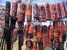 Maasai masks