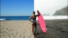 Can you surf in both California & Iceland within 24 hours?