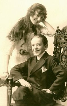 Fred Astaire and sister, Adele in - - - Together they were a star dance couple on Broadway. Then Adele got married and Fred went to Hollywood. Fred Astaire, Adele Astaire, Golden Age Of Hollywood, Vintage Hollywood, Hollywood Stars, Classic Hollywood, Ronald Colman, Fred And Ginger, Old Movies